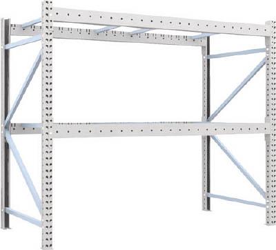 [パレットラック]トラスコ中山(株) TRUSCO 重量パレット棚1トン2300×1100×H2000単体 1D-20B23-11-2 1台【459-1372】【代引不可商品】【別途運賃必要なためご連絡いたします。】