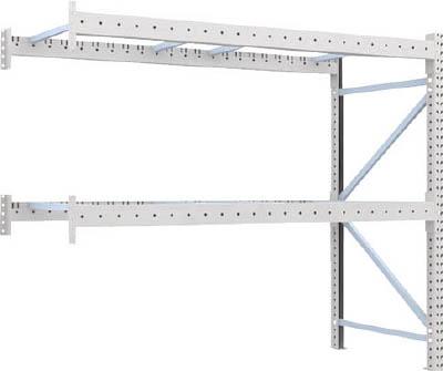 [パレットラック]トラスコ中山(株) TRUSCO 重量パレット棚1トン2500×1000×H2000連結 1D-20B25-10-2B 1台【459-1429】【代引不可商品】【別途運賃必要なためご連絡いたします。】