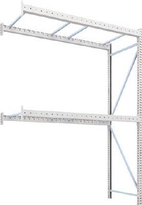 [パレットラック]トラスコ中山(株) TRUSCO パレットラック1トン用2500X1000XH3500 2段 連結 1D-35B25-10-2B 1台【459-1780】【代引不可商品】【別途運賃必要なためご連絡いたします。】