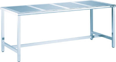 [ステンレス作業台(パンチングパネル天板タイプ)]【送料無料】TRUSCO パンチングテーブルSUS304 1800X900 #400 PTB-1890 1台【代引不可・メー直】【北海道・沖縄送別】【smtb-KD】【法人様方のみのお取扱いとなります】