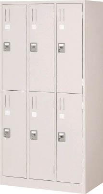 [ロッカー]トラスコ中山(株) TRUSCO TZ型防錆強化6人用ロッカー TZKL-6 1台【462-7318】【代引不可商品・メーカー直送】【別途運賃必要なためご連絡いたします。】