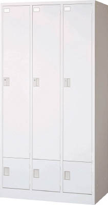 [ロッカー]トラスコ中山(株) TRUSCO セパレートロッカー 3人用 2段 JL-32 1台【462-6826】【代引不可商品・メーカー直送】【別途運賃必要なためご連絡いたします。】