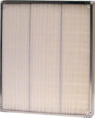 [エアフィルター]【送料無料】ミドリ安全(株) ミドリ安全 フラット型中性能フィルタ(BE型・厚み65mm) BE616165N-70J 1個【477-5953】【代引不可商品・メーカー直送】【北海道・沖縄送料別途】【smtb-KD】