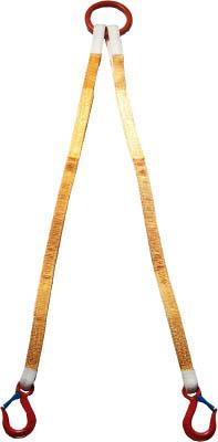 [スリング(繊維ベルト・ワイヤ)]【送料無料】大洋製器工業(株) 大洋 2本吊 インカリフティングスリング 2t用×1.5m 2ILS 1S(1個入)【473-0151】