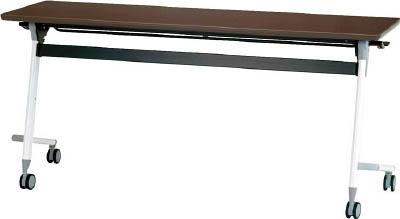 [天板跳ね上げ式会議用テーブル]アイリスチトセ(株) アイリスチトセ フライングテーブル 1500×450×700 アルビナウッド CFVA10-AW 1台【471-0037】【代引不可商品】【別途運賃必要なためご連絡いたします。】