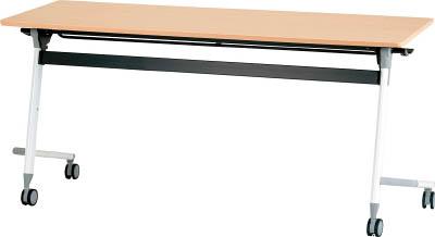 [天板跳ね上げ式会議用テーブル]アイリスチトセ(株) アイリスチトセ フライングテーブル 1500×600×700 シルクウッド CFVA20-SW 1台【471-0070】【代引不可商品】【別途運賃必要なためご連絡いたします。】