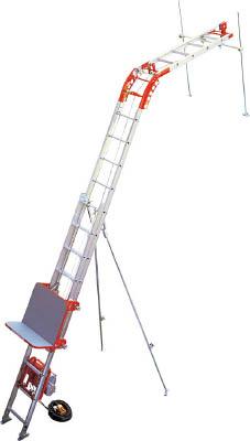 [ソーラーパネル用荷揚げ機]アルインコ(株) アルインコ 荷揚げ機「パワーコメット」2階用フルセット UP103P-Z-2F 1S【475-0675】【代引不可商品】【別途運賃必要なためご連絡いたします。】
