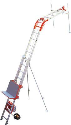 [ソーラーパネル用荷揚げ機]アルインコ(株) アルインコ 荷揚げ機「パワーコメット」3階用フルセット UP103P-Z-3F 1S【475-0683】【代引不可商品】【別途運賃必要なためご連絡いたします。】