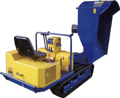 [土砂運搬機](株)筑水キャニコム CANYCOM 土木建設機械プンダ(990kg積載 回転) S100KZCB4 1台【486-2414】【代引不可商品】【別途運賃必要なためご連絡いたします。】