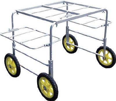 [アルミ製運搬車](株)アルミス アルミス アルミいちご台車 S 1台【489-6017】【代引不可商品】【別途運賃必要なためご連絡いたします。】