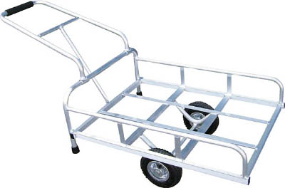 [リヤカー](株)アルミス アルミス アルミリヤカー 4-GATA 1台【489-5941】【代引不可商品】【別途運賃必要なためご連絡いたします。】