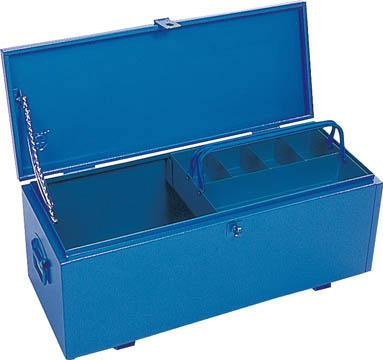 [車載用収納箱](株)リングスター リングスター 大型車載用工具箱GT-750ブルー GT-750-B 1個【487-2771】【代引不可商品】【別途運賃必要なためご連絡いたします。】