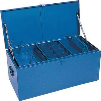[車載用収納箱](株)リングスター リングスター 大型車載用工具箱GT-910ブルー GT-910-B 1個【487-2797】【代引不可商品】【別途運賃必要なためご連絡いたします。】