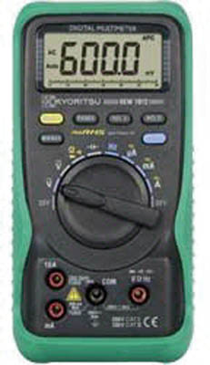 [デジタルテスタ]共立電気計器(株) KYORITSU デジタルマルチメータ(RMS) KEW1012 1個【479-6357】