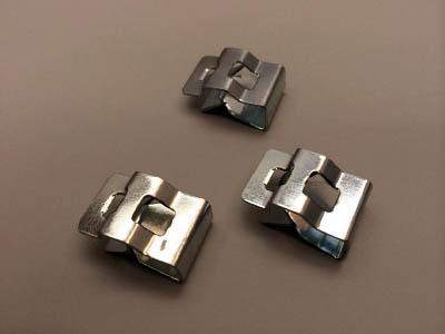 [ケーブル固定具]パンドウイットコーポレーション パンドウイット クリップ型固定具 MCMS30-P-C 1袋(100個入)【477-4621】
