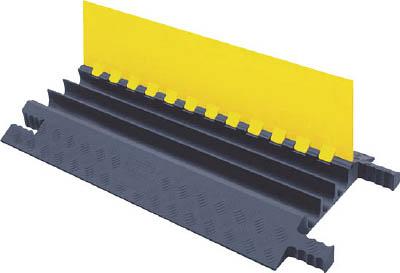 [ケーブルカバー]【送料無料】CHECKERS社 CHECKERS グリップガード ケーブルプロテクター 軽量型 電線3本 GG3X225YGR 1本【493-3231】