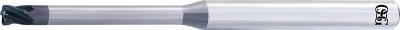 [超硬ラジアスエンドミル]オーエスジー(株) OSG 超硬エンドミルWXスーパーコート(高精度ブルノーズ) WXS-CPR-3XR0.5X1X40 1本【634-8599】
