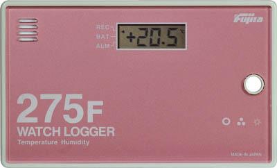 [温湿度記録計(ロガー)](株)藤田電機製作所 Fujita データーロガーKT-275F(カードタイプ) KT-275F 1台【758-6906】