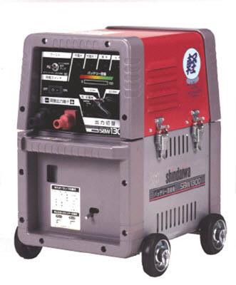 [バッテリー溶接機](株)やまびこ 新ダイワ バッテリー溶接機 130Aメンテナンスフリー SBW130D-MF 1台【代引不可商品】 【758-7953】【別途運賃必要なためご連絡いたします。】