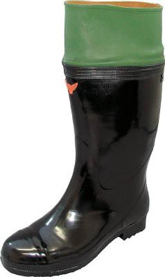 [安全長靴(JIS規格品)]シバタ工業(株) SHIBATA 安全作業軽半長18型 24.0 SB614-24.0 1足【760-6184】
