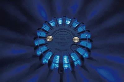 [警告灯]【送料無料】パワーフレア社 PF セーフティライト 青 PF210BBL 1台【北海道・沖縄送料別途】【smtb-KD】【760-7075】