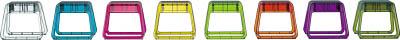 [簡易踏台](株)ピカコーポレイション ピカ 樹脂製踏台 GEM STEP ライトグリーン GEMS-LG 1台【760-9400】