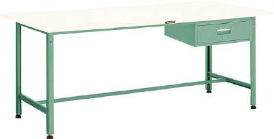 [軽量作業台(AE型300kgタイプ)]【送料無料】TRUSCO AE型作業台 1800X900XH740 1段引出付 W色 AE-1809F1 W 1台【代引不可・メー直】【北海道・沖縄送別】【smtb-KD】 【法人様方のみのお取扱いとなります】