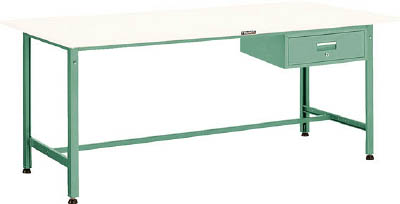 [軽量作業台(AE型300kgタイプ)]【送料無料】TRUSCO SAE型作業台 900X600XH740 1段引出付 W色 SAE-0960F1 W 1台【代引不可・メー直】【北海道・沖縄送別】【smtb-KD】 【法人様方のみのお取扱いとなります】