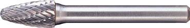[超硬バー](株)ムラキ MRA 超硬バー Cシリーズ 形状:砲弾(クロスカット) 刃長32mm CB3C109 1本【144-8021】【代引不可商品】