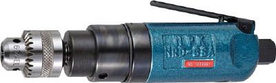 [エアドリル]【送料無料】日本ニューマチック工業(株) NPK ドリル 6.5mm ストレートタイプ 10198 NRD-6SA 1台【北海道・沖縄送料別途】【smtb-KD】【753-4086】