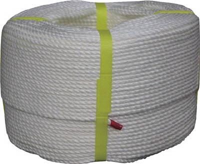 [ロープ(ビニロン)](株)ユタカメイク ユタカ ビニロンロープ巻物 5φ×200m V5-200 1巻【754-1759】