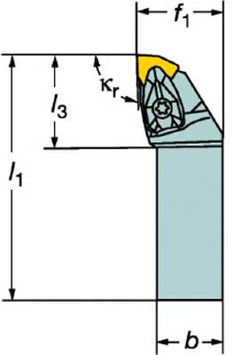 【送料無料】[ターニングホルダー]サンドビック(株) サンドビック コロターンRC ネガチップ用シャンクバイト DWLNL 1616H 06 1個【570-7684】【北海道・沖縄送料別途】【smtb-KD】