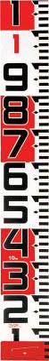 [ロッド]【送料無料】(株)TJMデザイン タジマ シムロンロッド-150 長さ10m 1mアカシロ仕様 紙箱 SYR-10TK 1個【813-4655】【代引不可商品】【北海道・沖縄送料別途】【smtb-KD】