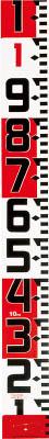 [ロッド]【送料無料】(株)TJMデザイン タジマ シムロンロッド-120 長さ10m 1mアカシロ仕様 紙箱 SYR-10WK 1個【813-4656】【代引不可商品】【北海道・沖縄送料別途】【smtb-KD】