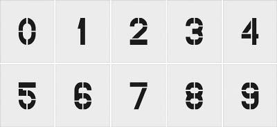 [マーキングプレート] IM【送料無料】(株)アイマーク 0~9 IM ステンシル AST-SETN250125 0~9 1セット10枚単位 文字サイズ250×125mm AST-SETN250125 1S【818-6174】【代引不可商品】【北海道・沖縄送料別途】【smtb-KD】, ar-style:2e8ce835 --- jpworks.be