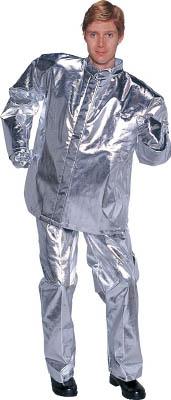 [耐熱保護具]【送料無料】日本エンコン(株) ENCON 全アルミ耐熱服 上衣 5010-L 1着【819-2919】【代引不可商品】【北海道・沖縄送料別途】【smtb-KD】
