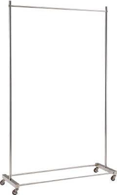 [ウェア用ハンガーラック]【送料無料】トラスコ中山(株) TRUSCO ステンレスハンガーラック W1200XH1800 SUTD18-120 1台【819-4942】【代引不可商品】【北海道・沖縄送料別途】【smtb-KD】