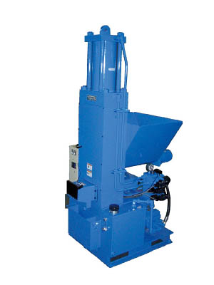 [圧縮減容器]油研工業(株) 油研 自動切屑圧縮機 YK-40V-3-25 1台【819-9752】【代引不可商品】【別途運賃必要なためご連絡いたします。】