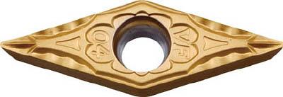 [ターニングチップ]京セラ(株) 京セラ 旋削用チップ PV710 PVDサーメット CMT VBMT160408VF 10個【823-0203】