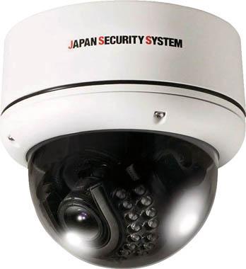 [防犯用カメラ](株)日本防犯システム 日本防犯システム AHD対応2.2メガピクセル屋外IRドームカメラ(2.8~11 JS-CA1021 1台【824-5469】【代引不可商品】【別途運賃必要なためご連絡いたします。】