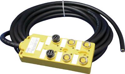 [配線接続用コネクタ]日本モレックス合同会社 molex M12マルチポートボックス BTY600N-FBP-05 1個【799-8848】