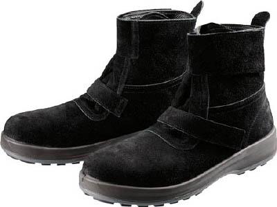 [安全靴(半長靴・JIS規格品)](株)シモン シモン 安全靴 WS28黒床 25.5cm WS28BKT-25.5 1足【784-7661】