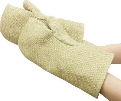 [耐熱手袋]ニューテックス・インダストリー社 ニューテックス ゼテックスプラス ミットン 28cm 2100037 1双【784-8447】