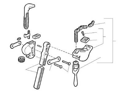 [パイプレンチ用パーツ]【送料無料】Ridge Tool Compan RIDGE トラニオン&ジョー F/S-6A 32230 1個【788-2297】【代引不可商品】【北海道・沖縄送料別途】【smtb-KD】