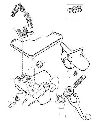 [パイプバイス用パーツ]【送料無料】Ridge Tool Compan RIDGE E-1242 プラスチック管用ジョー F/460 41280 1個【788-2912】【代引不可商品】【北海道・沖縄送料別途】【smtb-KD】
