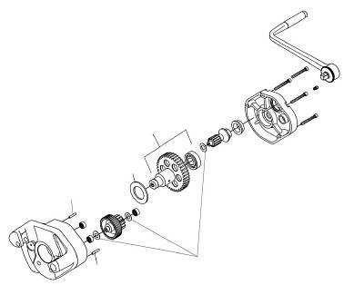 [パイプ溝加工機用パーツ]【送料無料】Ridge Tool Compan RIDGE インターミディエイト ギアー F/915 93787 1個【788-4001】【代引不可商品】【北海道・沖縄送料別途】【smtb-KD】