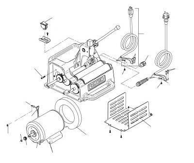 [電動面取機用パーツ]Ridge Tool Compan RIDGE モーター カバー F122J 94862 1個【788-4192】