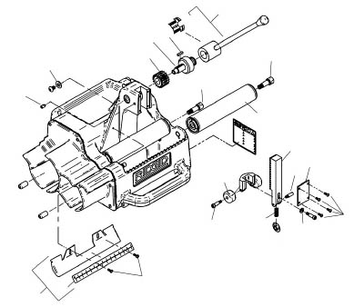 [電動面取機用パーツ]Ridge Tool Compan RIDGE アーバー ギヤー F/122J 94882 1台【788-4214】