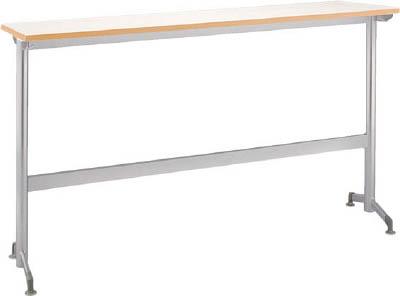 [会議用テーブル]アイリスチトセ(株) アイリスチトセ リフレッシュテーブルフーク カウンタ脚1500×400ホワイト CFKTK1540G-W 1台【790-2182】【代引不可商品】【別途運賃必要なためご連絡いたします。】