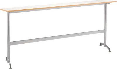 [会議用テーブル]アイリスチトセ(株) アイリスチトセ リフレッシュテーブルフーク カウンタ脚1800×400ホワイト CFKTK1840G-W 1台【790-2204】【代引不可商品】【別途運賃必要なためご連絡いたします。】